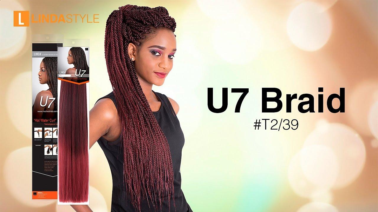LINDA U7 Braid #T2/39 - YouTube
