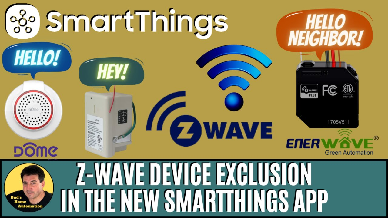 Z-Wave Device Exclusion in the New SmartThings App