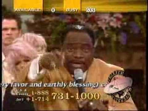 Eddie Long Pimping for TBN with Steve Munsey