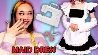 EEN MAID DRESS NAAIEN