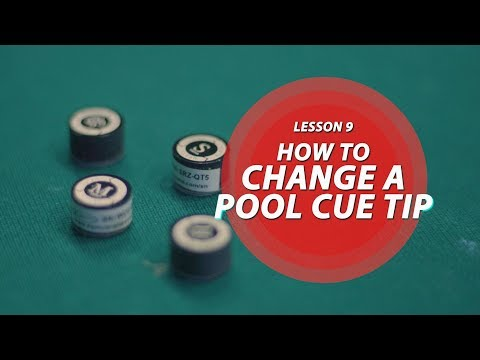 Billiards Tutorial: How to Change a Pool Cue Tip!!!