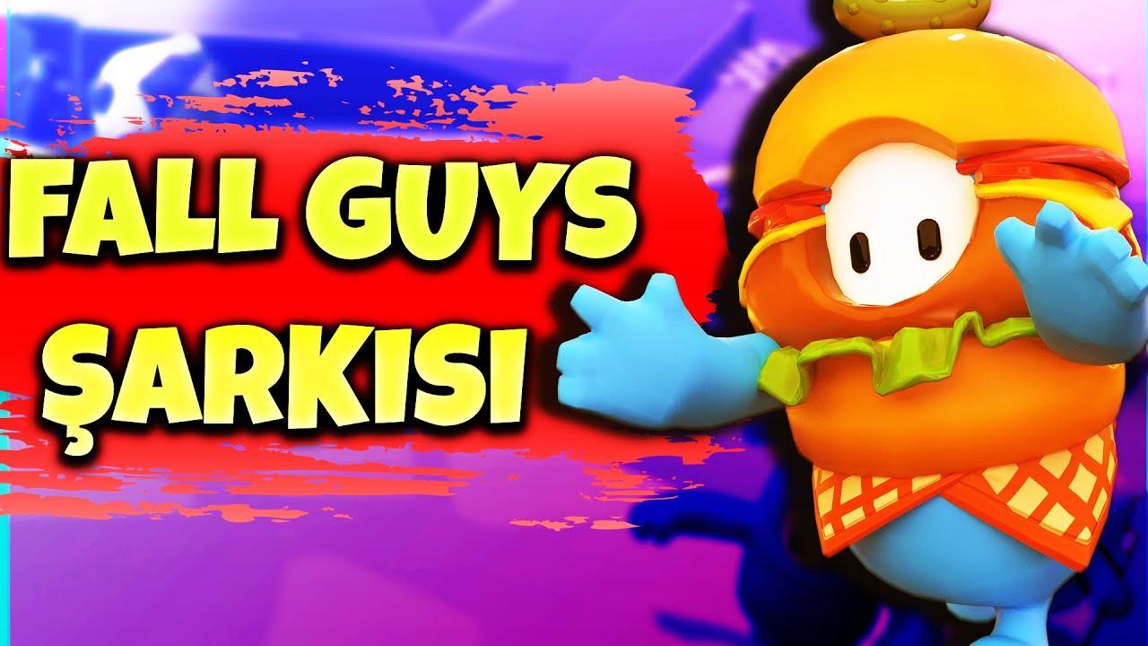 FALL GUYS ŞARKISI   Fall Guys Türkçe Rap Şarkısı