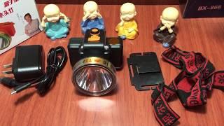 Đèn Đội Đầu Siêu Sáng T3 - Tích Hợp Cổng Sạc USB - Hiển Thị % Pin - 0859195222