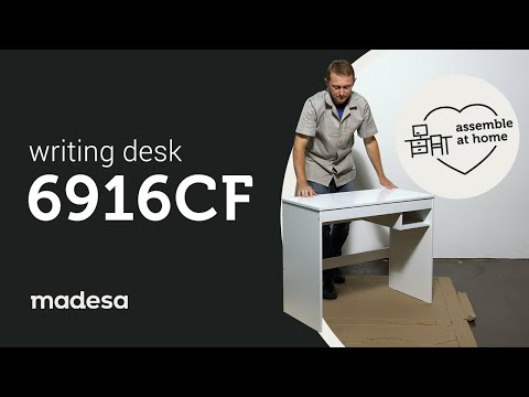 MADESA Modern and Compact Home Office Computer Writing Desk