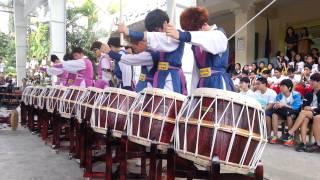 영광중학교_필리핀공연(세로토닌드럼클럽)
