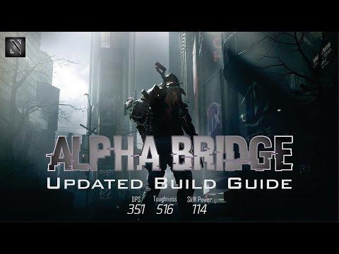 351k DPS 516k Toughness Alpha Bridge with Barrets Chest Piece - The Division PVP Build