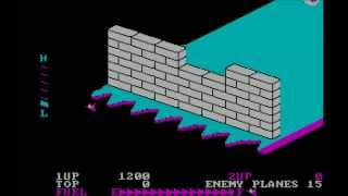 Mark Plays... Zaxxon (IBM-PC/MS-DOS)(CGA)(1984)