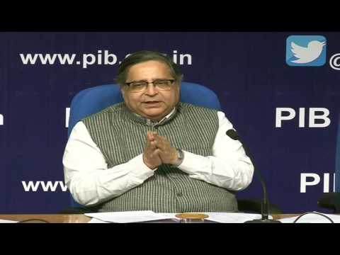 Press Conference By Dr. T.C.A Anant, Chief Statistician of India & Secretary, MOSPI