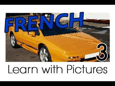 Learn French - French Vehicle Vocabulary
