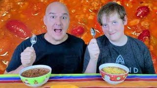 Big bowl of Chili Mukbang | The Barkers