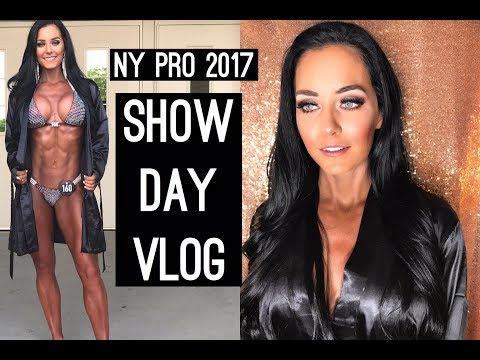 SHOW DAY Vlog   New York Pro IFBB Bikini 2017   UNDENIABLE SEASON 2 Episode 17