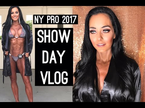 SHOW DAY Vlog | New York Pro IFBB Bikini 2017 | UNDENIABLE SEASON 2 Episode 17