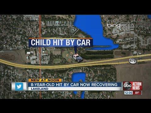 Car hits 8-year-old near Carlton Palmore Elementary School in Lakeland