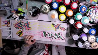 Граффити обучение : как делать подтеки