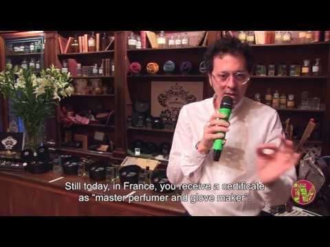 Orobianco Parfum Collection: interview at Aqua Flor (Florence, IT)