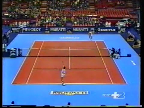 ATP Milan 91 Volkov vs Caratti Final