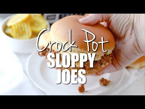 CROCK POT SLOPPY JOES (+Video) | The