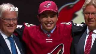 The First Round Of The 2015 NHL Draft In A Minute