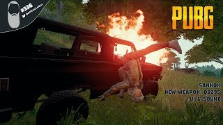 🔵 PUBG #336 PC Gameplay Live Stream | 966 WINS! NEW UPDATE 15! SAHNOK MAP, NEW WEAPON QBZ95 & MORE