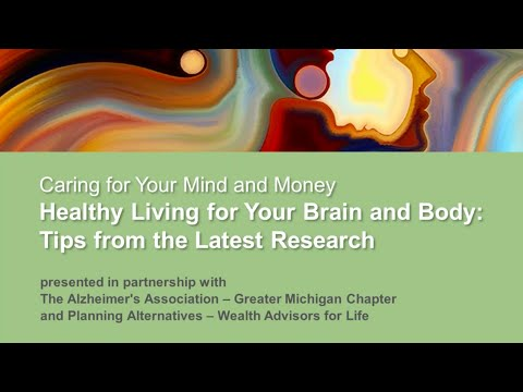 Caring for Your Mind and Money — Part 1