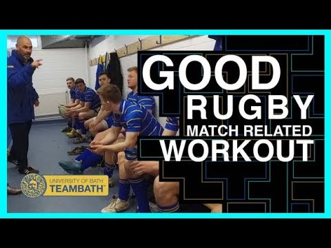 Team Bath Rugby Union Conditioning Work-out