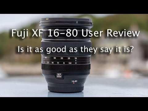 Fuji XF 16-80 User Review