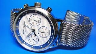 Stuhrling Original 514M 02  Watch with Mesh Bracelet