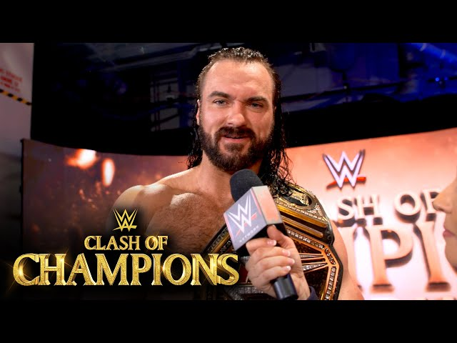 Drew McIntyre shows off Ambulance Match battle wounds: WWE Network Exclusive, Sept. 27, 2020