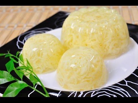 Thai Dessert – Egg Jelly (Woon Kai)