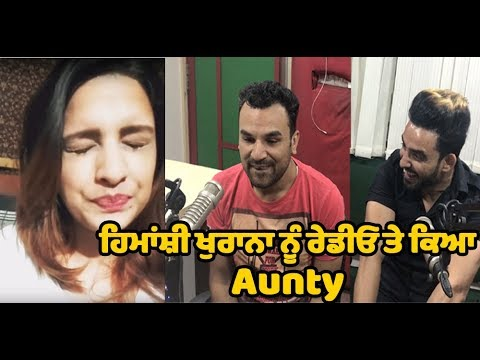 Himanshi Khurana is said Aunty at Radio to which she reacts | Dainik Savera
