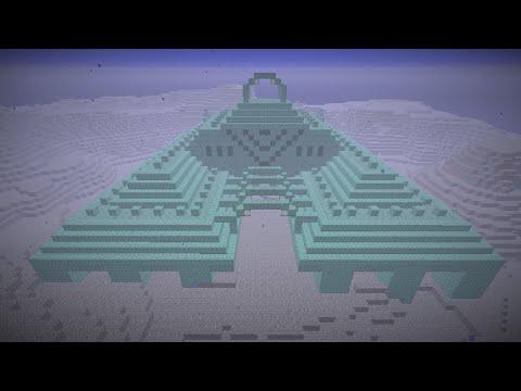 Minecraft Ocean Monument, Part 1: Overview and materials