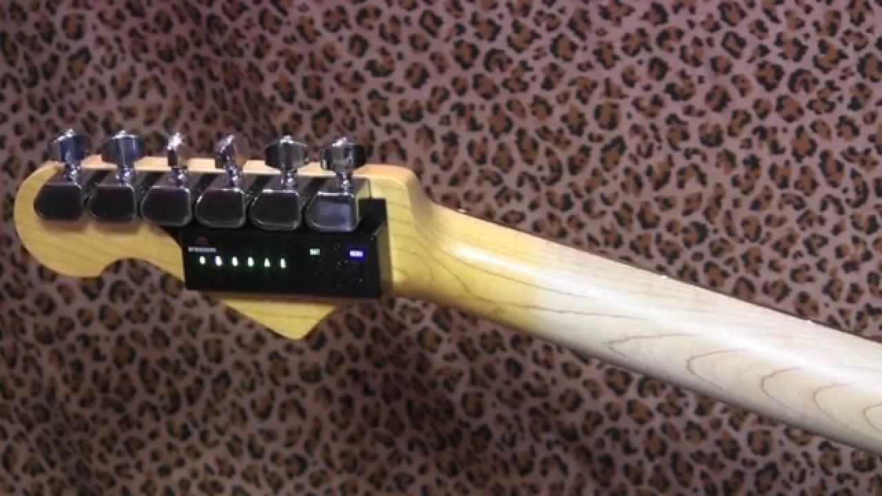 Urządzenie do automatycznego strojenia gitary