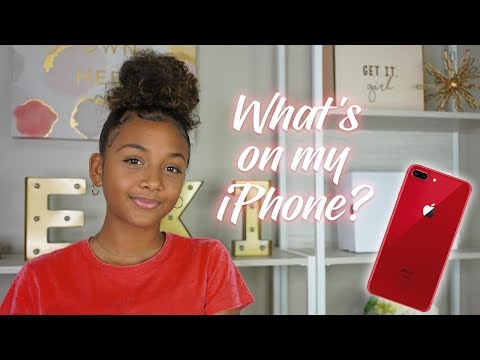 What's On My IPhone 8 Plus | LexiVee03