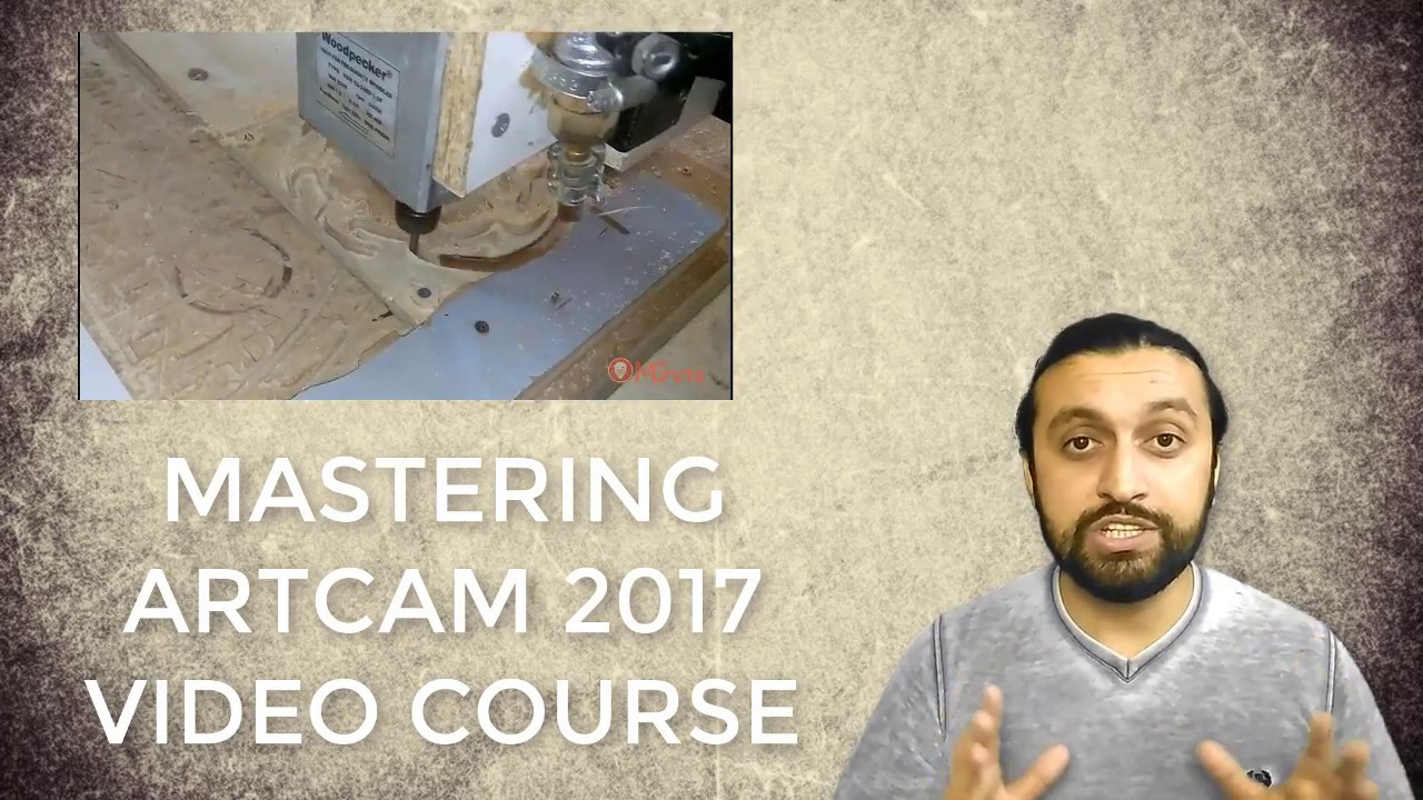 Artcam 2017 Video course -  Full guideline to Artcam 2D - Level 1