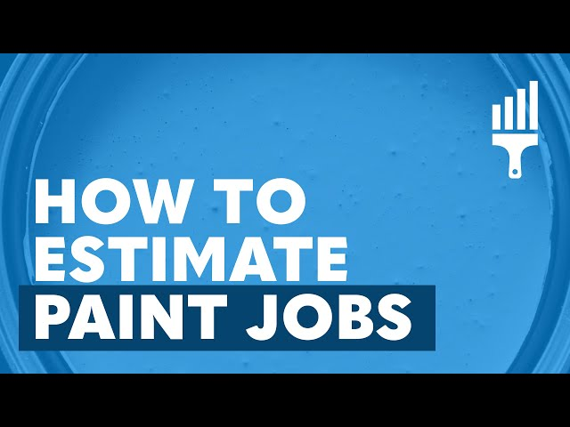 How to Bid or Estimate Paint Jobs - Painting Business Pro