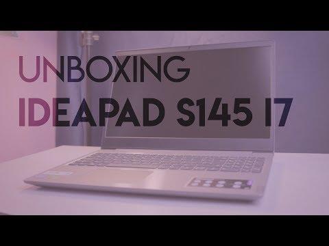 Unboxing E Opinião - Ideapad S145 I7 8565U MX110