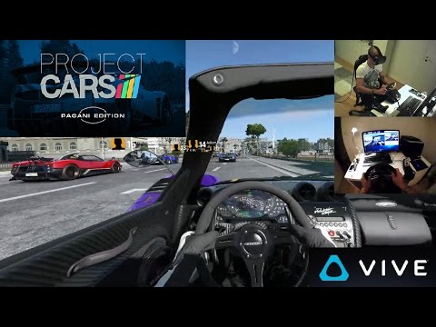 Project Cars Pagani Edition HTC Vive VR gameplay and first impressions. | Free VR game on Steam
