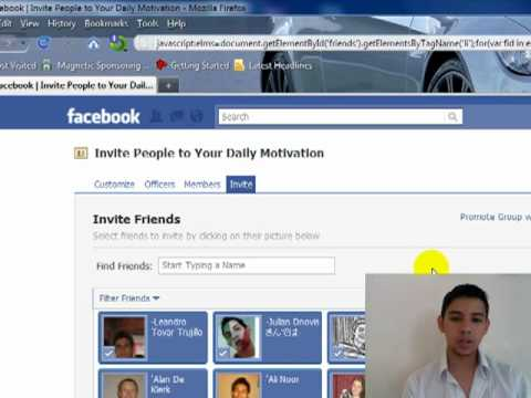 How To Invite Friends To Your Facebook Group In 20 Secs YouTube