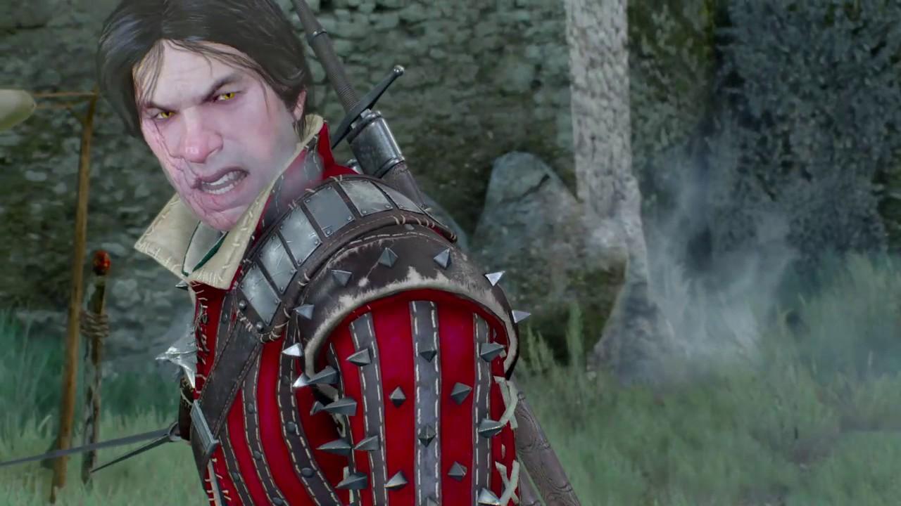 The witcher 3 scene eskel ciri vs caranthir youtube - The witcher 3 caranthir ...
