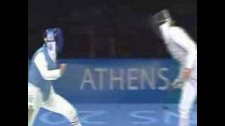 SUPER FENCING ATHENS 2004.Romankov. D,
