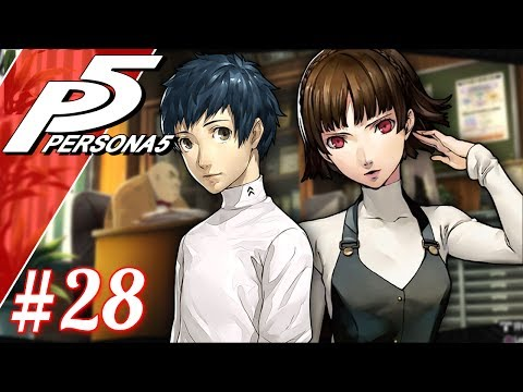 Mishima And Makoto, A New Friend And A New Enemy 5/6  Let's Play Persona 5 Blind Part 28