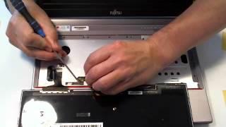 Connect keyboard Fujitsu E734