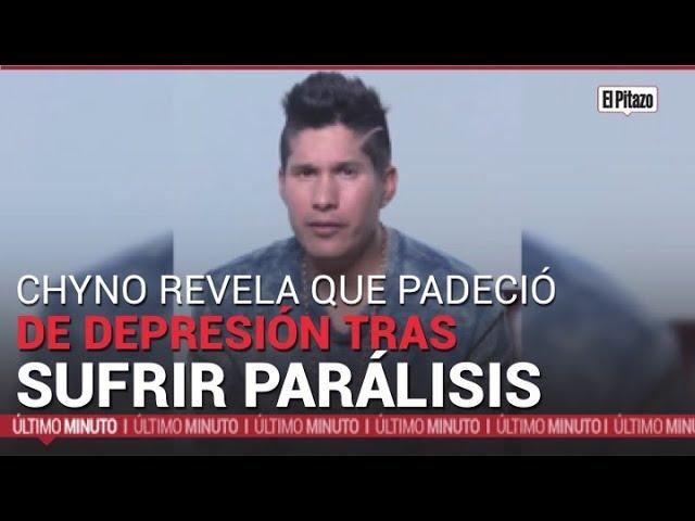 Chyno Miranda revela que en 2020 padeció depresión tras sufrir una parálisis