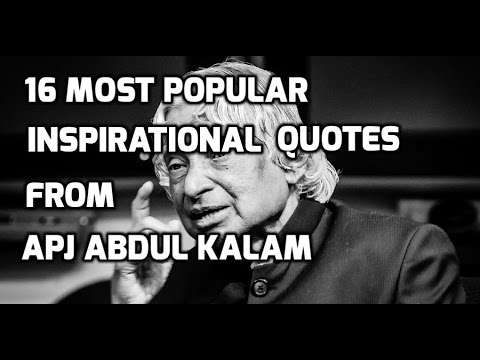 60 Most Popular Inspirational Quotes From APJ Abdul Kalam RIP Mr Interesting Popular Inspirational Quotes