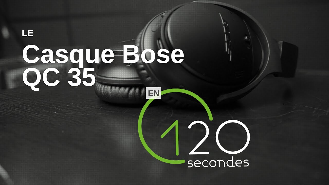 test du casque sans fil bose qc35 youtube