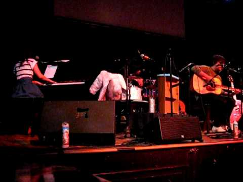 Asobi Seksu - Walk On The Moon (acoustic) - St. Louis, MO  - 2/4/2010
