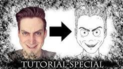 Gesichter im Comic-Stil darstellen | TUTORIAL (Abo-Special)