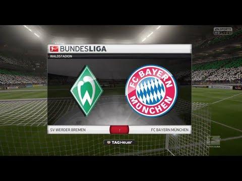 2. Spieltag: Werder Bremen vs FC Bayern München (26.08.2017)