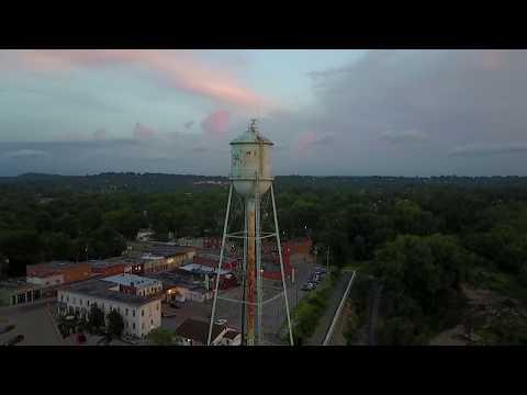 Morning over Crystal City, Missouri