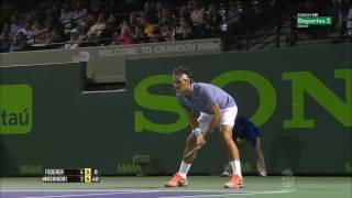 ATP 2014 Miami QF Roger Federer VS Kei Nishikori